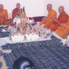 A cerimônia de bênção da pousada em Luang Prabang