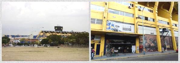 Bombonera, casa do time de futebol Boca Juniors no bairro La Boca - Buenos Aires, Argentina - Foto: Amandina Morbeck
