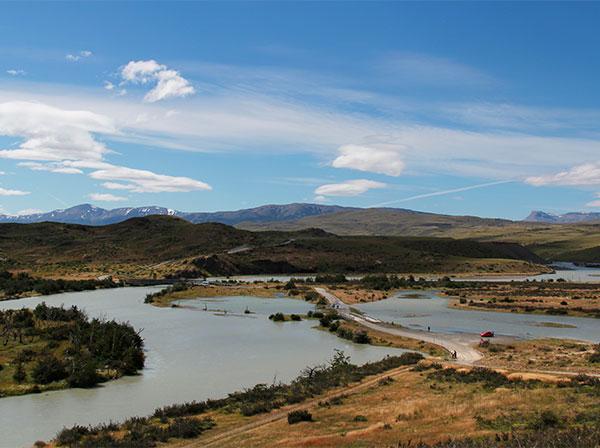 Laguna Amarga, uma das portas de entrada do Parque Torres del Paine, Chile - Foto: Amandina Morbeck.