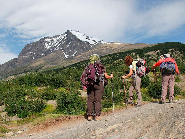 A paisagem é linda todo o tempo - Circuito W, Torres del Paine, Chile - Foto: Amandina Morbeck.