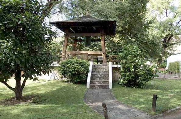 Quiosque com arquitetura tradicional japonesa no Jardim Japonês em Buenos Aires, Argentina - Foto: Amandina Morbeck.