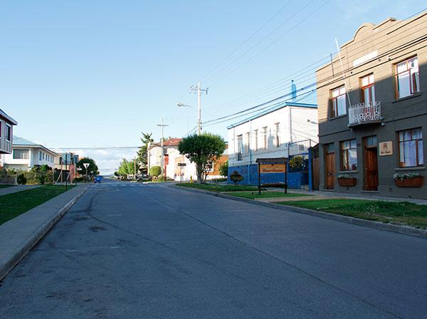 Manhã tranquila em Punta Arenas, Chile - Foto: Amandina Morbeck.