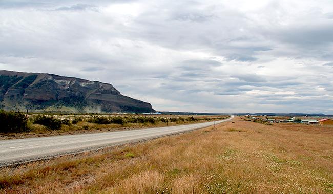 Paisagem em Punta Arenas, Chile, que ilustra a página Por que viajar? no site Viajando com Aman - www.viajandocomaman.com.br - Foto: Amandina Morbeck
