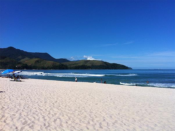 Qual seu sonho de viagem? - Maresias, litoral norte de São Paulo - Foto: Amandina Morbeck.