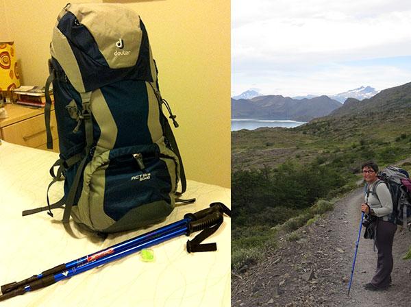 Quanto mais leve a mochila, mais conforto na trilha - Fotos: Janaina Vieira.