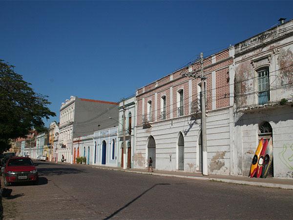 Rua do Porto, Corumbá - Pantanal do Mato Grosso do Sul na seca - Foto: Amandina Morbeck.