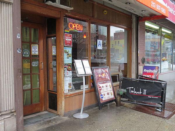 Fachada do Talent II na Rua 9 - www.viajandocomaman.com.br - Foto: Amandina Morbeck.