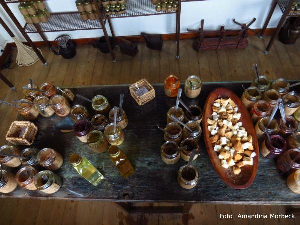 Deliciosos chutneys, geleias, antepastos e temperos para degustação em A Senhora das Especiarias - Foto: Amandina Morbeck.