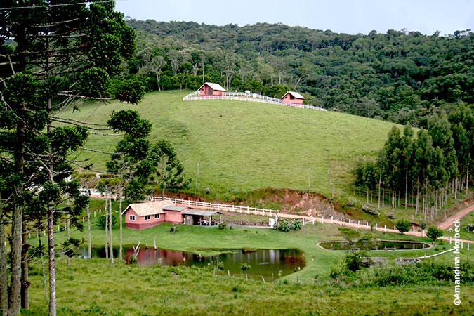 Trutaria Lago Azul, Gonçalves, Minas Gerais - Foto: Amandina Morbeck.