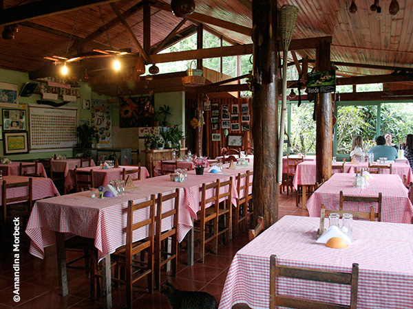 Restaurante Zé do Ovídio - Foto: Amandina Morbeck.