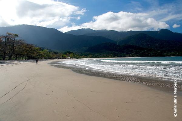 Praia de Castelhanos - Foto: Amandina Morbeck.