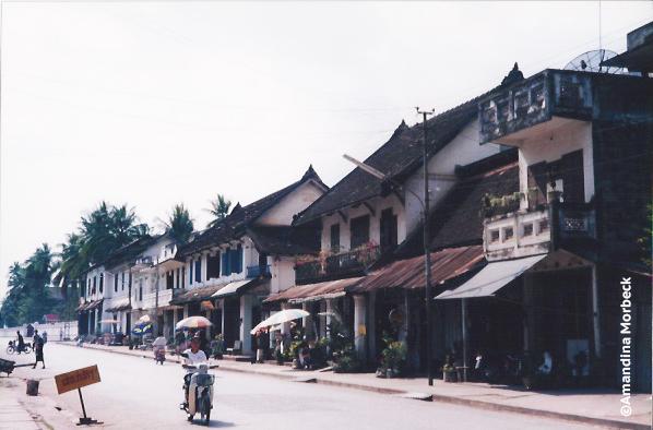 Rua de Luang Prabang - Foto: Amandina Morbeck.