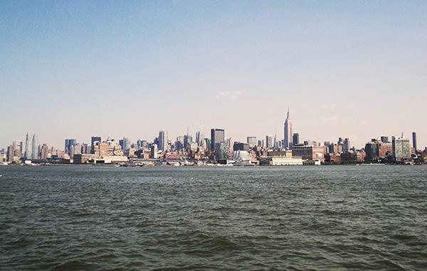 Manhattan - e o Rio Hudson - Foto: Amandina Morbeck.
