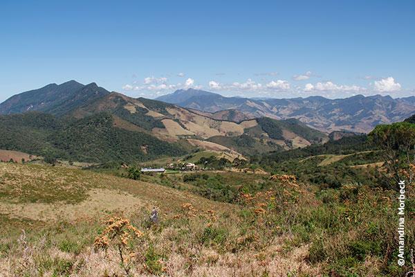 Vista do Refúgio Serra Fina - Foto: Amandina Morbeck.