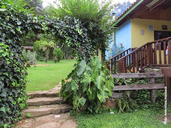 Entrada do Restaurante da Vilma em Gonçalves, Minas Gerais - Foto: Amandina Morbeck.