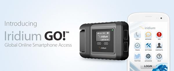 Com sinal de wi-fi de até 30 metros dá para conectar até 5 aparelhos no roteador portátil Iridium Go..