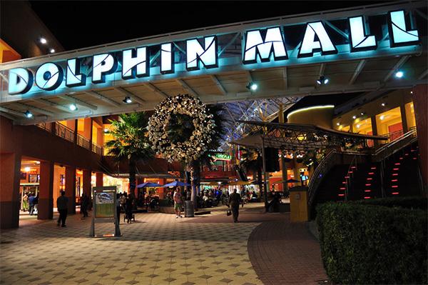 Dolphin Mall em Miami - Foto: Reprodução.
