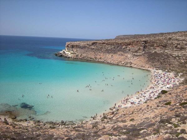Rabbit Beach, Lampedusa, Itália - Foto: Reprodução/TripAdvisor.