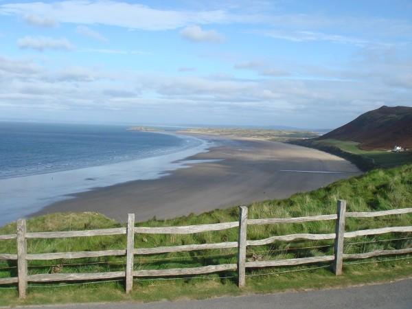 Rhossili Bay, Swansea, País de Gales - Foto: Reprodução/TripAdvisor.