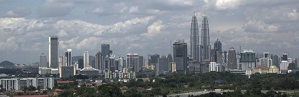 Países mais visitados do mundo - 10- Kuala Lumpur, capital da Malásia - Foto: Wikimedia/Alex Tan.