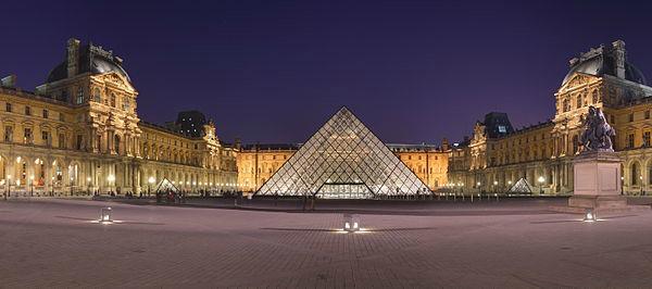 França - Número de visitantes: 83 milhões | Foto: Museu do Louvre/Reprodução: Wikimedia-Benh Lieu Song.