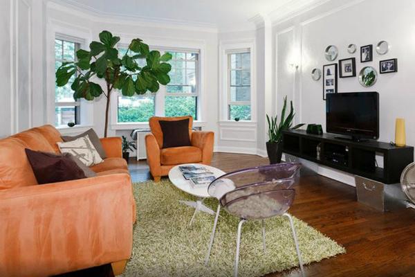 Opção de hospedagem em viagem - Interior do apartamento alugado em Chicago - Foto: Kleber Carvalho.