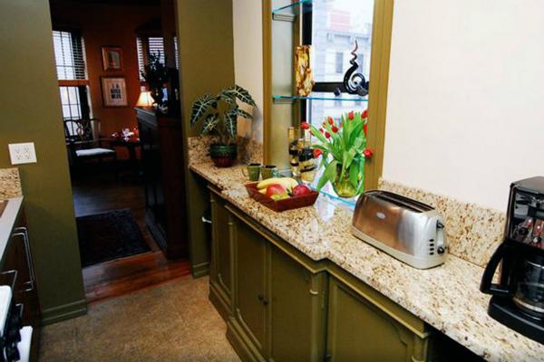 Cozinha no apartamento alugado em Manhattan, New York - Foto: Kleber Carvalho.