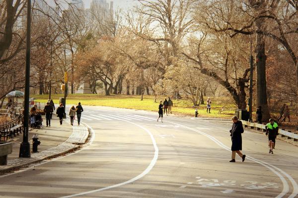 Central Park, o parque mais famoso do mundo no coração de Manhattan, New York - Foto: Kleber Carvalho.
