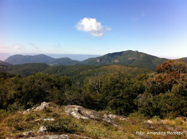 Pedra do Jair, a 2.000 metros de altitude.