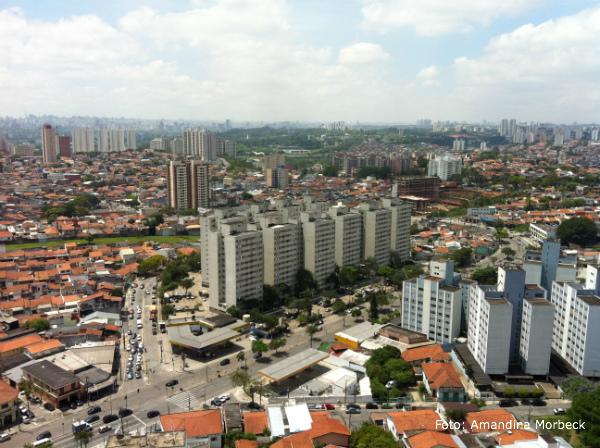 Essa era a vista que eu tinha todos os dias morando em São Paulo.