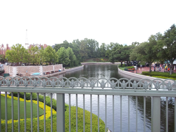 Uma das vistas do Epcot Center - Foto: Rodrigo Duzzi.