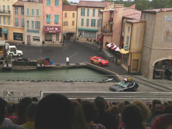 Show dos carros, com a participação de Steve McQueen, do desenho Carros - Foto: Rodrigo Duzzi.