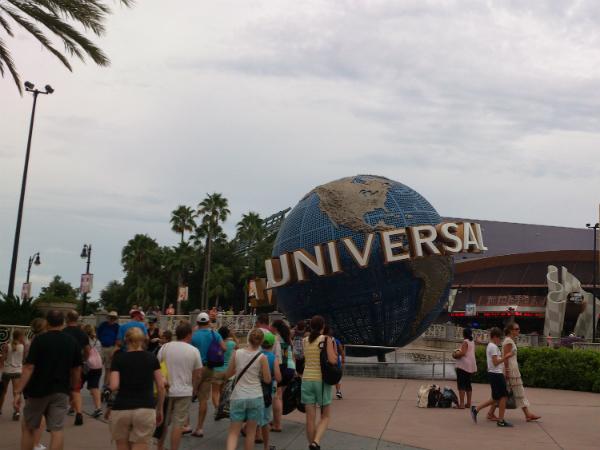 Entrada da Universal Studios - Foto: Rodrigo Duzzi.