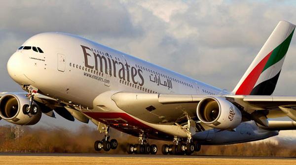 10 melhores companhias aéreas do mundo (2015) - Emirates - 5 lugar.