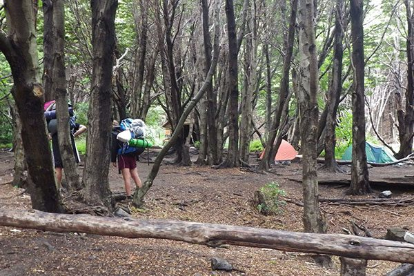 Acampamento Italiano - Agendamento para acampamentos em Torres del Paine, Chile - Foto: Amandina Morbeck.